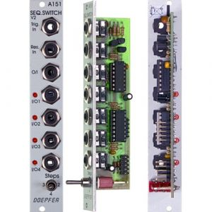 Doepfer A-151 Quad Sequential Switch