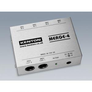 Kenton Merge 4 - 4 MIDI IN to 2 OUT