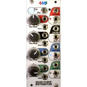 4ms Pedals - Quad Clock Distributor (QCD)